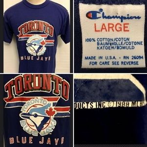 Vintage MLB Toronto Blue Jays 88' Champion T Shirt
